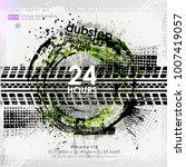template grunge poster for... | Shutterstock .eps vector #1007419057