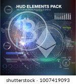 infographic elements.... | Shutterstock .eps vector #1007419093