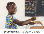 africa and technology  ... | Shutterstock . vector #1007424703