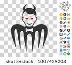 gentleman spectre devil icon...