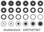 camera shutter icons set | Shutterstock .eps vector #1007437567