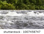 mountain river with green... | Shutterstock . vector #1007458747