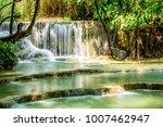 Kuang Si Falls Cascading Pools