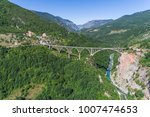 aerial view of the djurdjevica... | Shutterstock . vector #1007474653