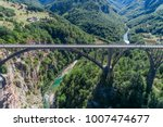 aerial view of the djurdjevica... | Shutterstock . vector #1007474677