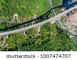 aerial view of the djurdjevica... | Shutterstock . vector #1007474707