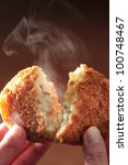 potato Croquette - stock photo