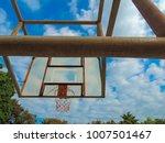 basketball sport court hoop... | Shutterstock . vector #1007501467
