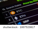 cryptocurrency market. bitcoin  ... | Shutterstock . vector #1007523817