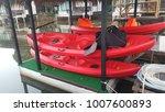 kayaking  canoeing  rafting ... | Shutterstock . vector #1007600893