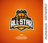 modern professional basketball... | Shutterstock .eps vector #1007603917