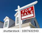right facing for sale real... | Shutterstock . vector #1007632543