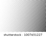 distressed halftone background. ... | Shutterstock .eps vector #1007651227