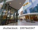 jan 20 2018 people entering the ...   Shutterstock . vector #1007663347