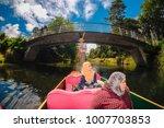 christchurch  new zealand  ...   Shutterstock . vector #1007703853