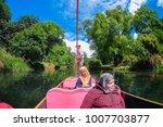 christchurch  new zealand  ...   Shutterstock . vector #1007703877