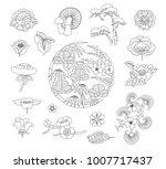 asian traditional design  print ...   Shutterstock .eps vector #1007717437