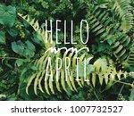 inspirational qoutes 'hello...   Shutterstock . vector #1007732527