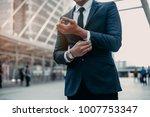 modern businessman. confident... | Shutterstock . vector #1007753347
