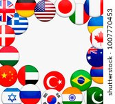 flags of the world  abstract... | Shutterstock . vector #1007770453