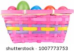 colored easter eggs in pink... | Shutterstock . vector #1007773753