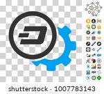 dash configuration gear icon...