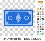 ethereum crystal banknote...