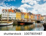 copenhagen  denmark   june 7 ...   Shutterstock . vector #1007805487