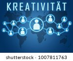 kreativitaet   german word for... | Shutterstock . vector #1007811763