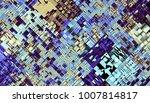 abstract digital fractal... | Shutterstock . vector #1007814817
