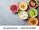 variety of colorful vegetables... | Shutterstock . vector #1007816983