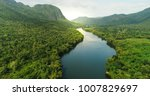 beautiful natural scenery of... | Shutterstock . vector #1007829697