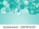 medical network isolated on... | Shutterstock .eps vector #1007876107
