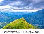 beautiful scenery of mountains... | Shutterstock . vector #1007876503