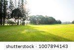scenery green golf and meadow... | Shutterstock . vector #1007894143