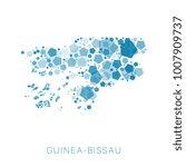map of guinea bissau filled...   Shutterstock .eps vector #1007909737