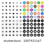 money icons set | Shutterstock .eps vector #1007921167