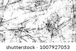 halftone grainy texture with... | Shutterstock .eps vector #1007927053