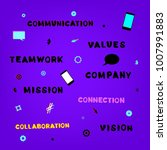 mission  vision  values ... | Shutterstock .eps vector #1007991883