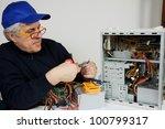 electrician | Shutterstock . vector #100799317