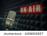 professional microphone in...   Shutterstock . vector #1008005857