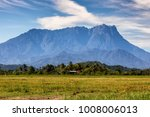 on a mid day  mount kinabalu...   Shutterstock . vector #1008006013