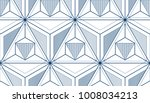 geometric cubes abstract... | Shutterstock .eps vector #1008034213