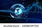 global network and financial... | Shutterstock . vector #1008039703