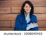 beautiful caucasian smiling...   Shutterstock . vector #1008045433