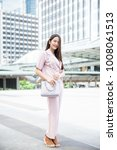 young asian business owner have ...   Shutterstock . vector #1008061513