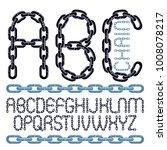 vector font  trendy typescript... | Shutterstock .eps vector #1008078217