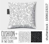 design vector pillow  cushion . ... | Shutterstock .eps vector #1008123217