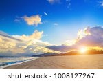 blue sky beach natural scenery | Shutterstock . vector #1008127267