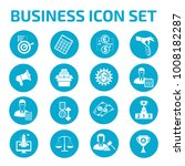 business icon set | Shutterstock .eps vector #1008182287